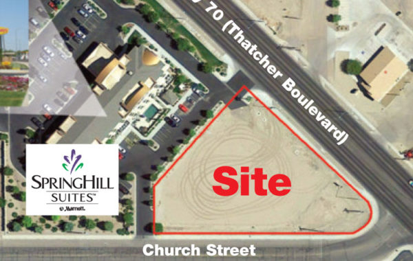 One Acre Commercial Corner – Thatcher
